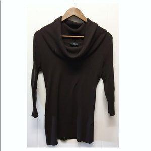 Iz Byer California | Brown Cowl Neck Sweater EUC